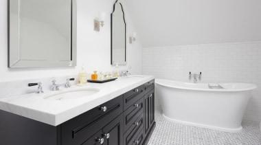 Entrant: Shannon Pepper – 2015 NKBA Design Awards bathroom, bathroom accessory, bathroom cabinet, bathroom sink, interior design, plumbing fixture, product design, room, sink, tap, white, gray