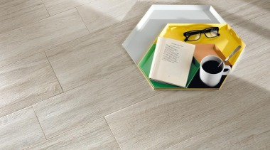 Bioplank oak ice interior anti-bacterial floor tiles. floor, flooring, hardwood, product design, table, tile, wood, wood flooring, yellow, gray