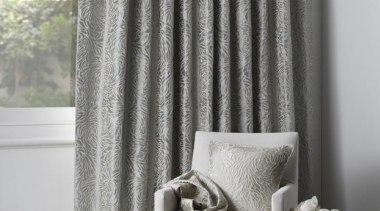 Peony - curtain | decor | interior design curtain, decor, interior design, textile, window, window covering, window treatment, gray