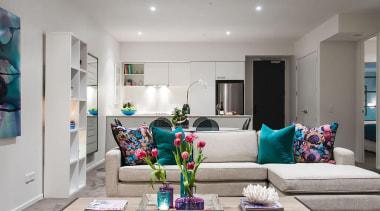 MERIT WINNER132 Vincent Street (1 of 4) - home, interior design, living room, real estate, room, gray