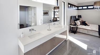 Ensuite design. - The Element Display Home - interior design, real estate, room, white, gray