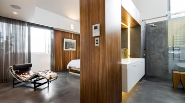 Joe Chindarsi of Chindarsi Architects architecture, ceiling, floor, flooring, interior design, real estate, white, brown