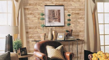 Norwall Room Texture Style - Texture Style Range chair, curtain, furniture, home, interior design, living room, room, wall, window, window covering, window treatment, orange