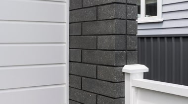 Simpler. Faster. Proven Weathertight.For more information, please visit angle, brick, brickwork, facade, siding, stone wall, wall, window, wood stain, gray, black