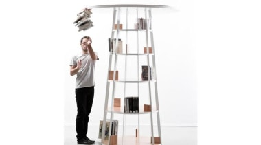 Star collection is named after the new area furniture, product, product design, shelf, shelving, table, white
