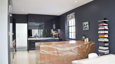 Winner Kitchen of the Year 2013 Tasmania - countertop, interior design, kitchen, living room, property, real estate, room, gray