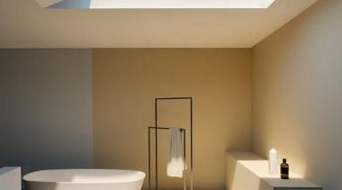 coe15.jpg - architecture | bathroom | ceiling | architecture, bathroom, ceiling, daylighting, floor, home, interior design, lighting, product design, real estate, gray, brown