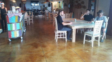 Chemical stain - Chemical_stain - floor | flooring floor, flooring, furniture, hardwood, recreation, restaurant, table, wood, black