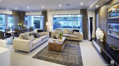 Living Room Design. - The Lexington Two Storey ceiling, home, interior design, living room, property, real estate, gray