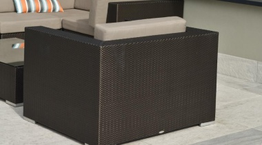 RAK Stone series outdoor tiles here in 600x900x20mm angle, floor, furniture, product design, table, wicker, gray, black
