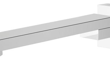 Muro Swivel Bath Spout MUR051 - Muro Swivel angle, bathtub accessory, hardware, hardware accessory, line, plumbing fixture, product, tap, white