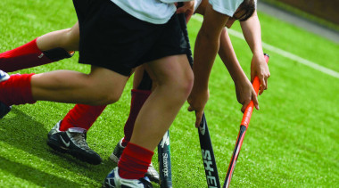 Sport ball, ball game, competition, competition event, field hockey, football, football player, games, grass, lawn, leisure, plant, play, player, sport venue, sports, sports training, stick and ball games, team sport, tournament, green