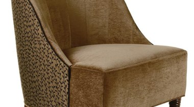 """My natural inclination for grandeur prompts me to chair, club chair, furniture, product, product design, brown, white"