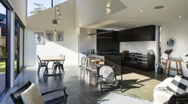 Urban Function Architecture architecture, house, interior design, living room, property, real estate, gray
