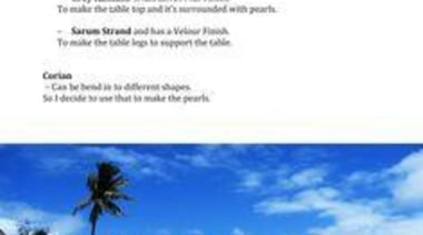 by Mandy Tan - Pearl Table - caribbean caribbean, leisure, sea, shore, sky, tourism, vacation, water, water resources, white