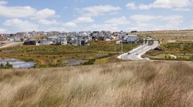 Natural HabitatsUrban Land Developments Property Award – Merit ecoregion, grassland, land lot, real estate, rural area, wetland, brown