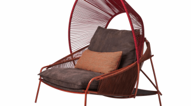 Stephen Burks and Roche Bobois collaborated on creating car seat cover, chair, furniture, product, white