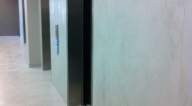 Laminam - Thin ceramic tiles for floors, walls floor, flooring, glass, property, real estate, wall, gray