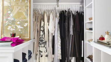 WALK IN CLOSET - Closet - walk in boutique, closet, clothes hanger, interior design, room, shelf, wardrobe, white