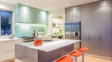 Tropical Kitchen - Tropical Kitchen - architecture | architecture, ceiling, countertop, floor, hardwood, interior design, kitchen, real estate, room, wood flooring, gray