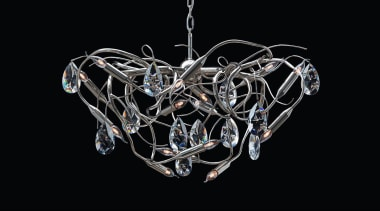 Brand van Egmond - Gaia Chandelier - Brand chandelier, light fixture, lighting, product design, black