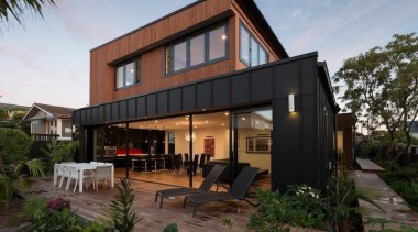 2 - architecture | elevation | facade | architecture, elevation, facade, home, house, property, real estate, residential area, roof, black, gray