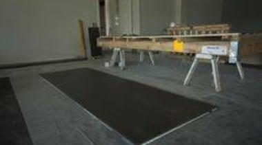 Network Tasman Building - Network Tasman Building - floor, flooring, table, wood, black, gray