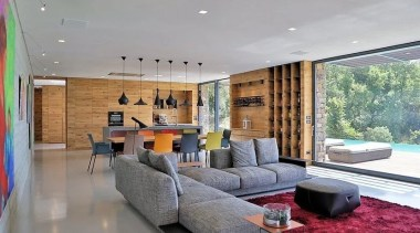 See the home architecture, ceiling, house, interior design, living room, property, real estate, gray