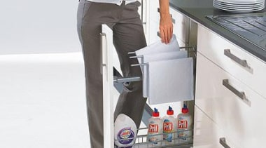 Ideal for towels and cleaning agents. - Cargo furniture, product, product design, white