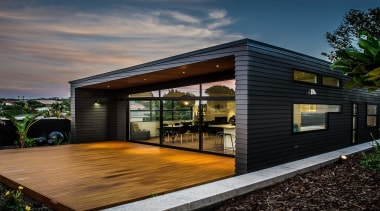 Linea Weatherboard - Linea Weatherboard - architecture | architecture, facade, home, house, real estate, residential area, shed, siding, black