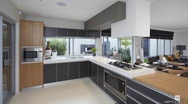 Kitchen design. - The Allure Display Home - countertop, cuisine classique, interior design, kitchen, real estate, gray