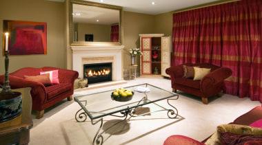 142 mahoenui 12 - Mahoenui 12 - home home, interior design, living room, property, real estate, room, suite, wall, window, red, brown, white