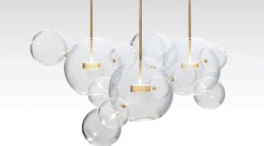 Wanting to crystallise the fleeting beauty of a light fixture, lighting, product, white