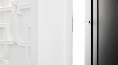 PBL22/50 - Solid Sprung Lever Handle Attached to black and white, door, product design, white