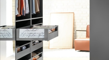 LEGRABOX free - Box System - chest of chest of drawers, closet, drawer, floor, flooring, furniture, interior design, product, product design, shelf, shelving, wall, wardrobe, white, gray