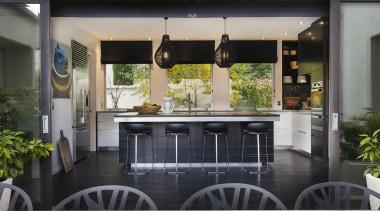 Entrant: Emma Morris #1– 2015 NKBA Design Awards door, house, interior design, patio, property, real estate, window, gray, black