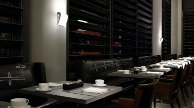 Wall Lights - Wall Lights - interior design interior design, restaurant, black