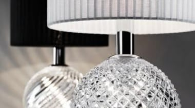 Fabbiam Lighting - Diamonds Table light, also available lamp, light fixture, lighting, lighting accessory, product design, gray, white