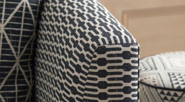 Exotic and eclectic yet effortlessly relaxed, ADITI is mesh, metal, pattern, textile, gray, black