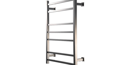 KUBIX 825 Slimline Towel Warmer - KUBIX 825 furniture, product, shelving, white