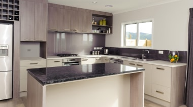 For more information, please visit www.gjgardner.co.nz cabinetry, countertop, cuisine classique, interior design, kitchen, property, real estate, room, gray
