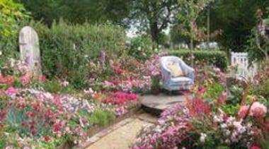 At Ellerslie International Flower Show - At Ellerslie annual plant, backyard, botanical garden, flora, flower, garden, landscape, landscaping, plant, shrub, spring, walkway, yard, green, brown
