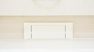 Kitvac Dustpan Close up Almond - Kitvac Dustpan furniture, line, product design, shelf, table, wood, white