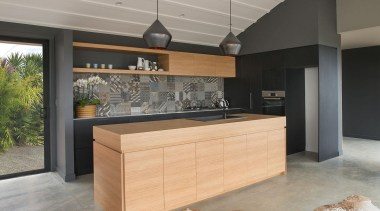 Winner – Best Use of Small Space - countertop, floor, flooring, furniture, interior design, kitchen, wood flooring, gray