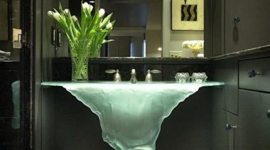 Glass Sink with some beautiful taps - countertop countertop, glass, interior design, plumbing fixture, sink, table, black