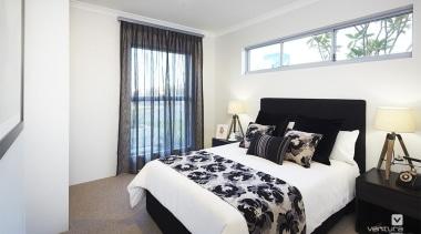 Bedroom design. - The Lexington Two Storey Display bed frame, bedroom, home, interior design, property, real estate, room, window, white