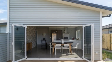 Tauranga Showhome - Tauranga Showhome - deck | deck, door, facade, home, house, porch, property, real estate, siding, window, gray