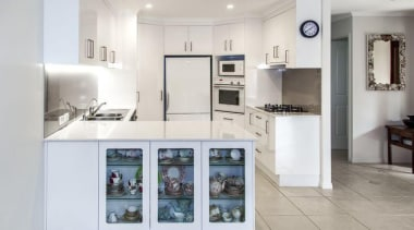 Entrant - The Cabinet House. Month - May. home appliance, interior design, kitchen, real estate, gray, white