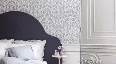 Camarque Range - Camarque Range - bed   bed, bed frame, bedroom, ceiling, decor, floor, home, interior design, room, wall, wallpaper, window, gray, white