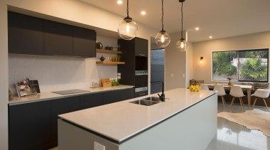 Winner – Best Kitchen Design under $25,000 - countertop, cuisine classique, interior design, kitchen, real estate, room, brown, orange